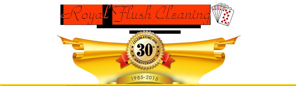 Royal Flush Cleaning logo
